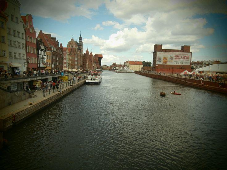 Beautiful Gdansk, Poland