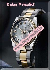 Rolex Watches Price list
