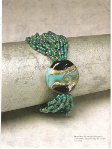 this is pretty...and i have a bunch of small beads now...might try and make something like this.