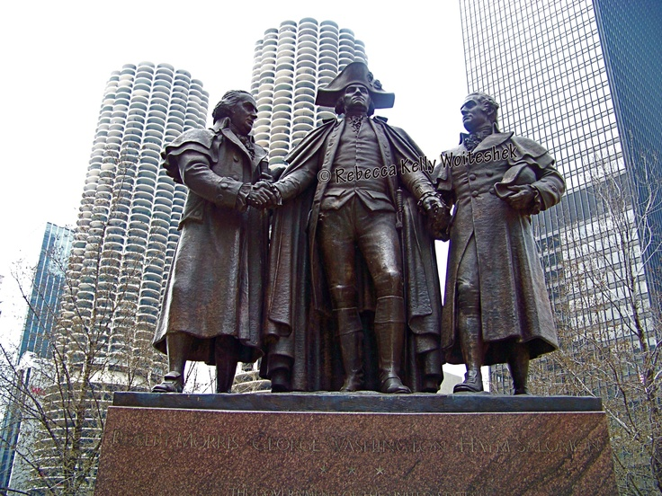 Influential men to the financial strength of Chicago.