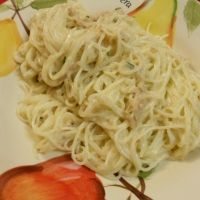 Tuna Tetrazzini...fast weeknight supper