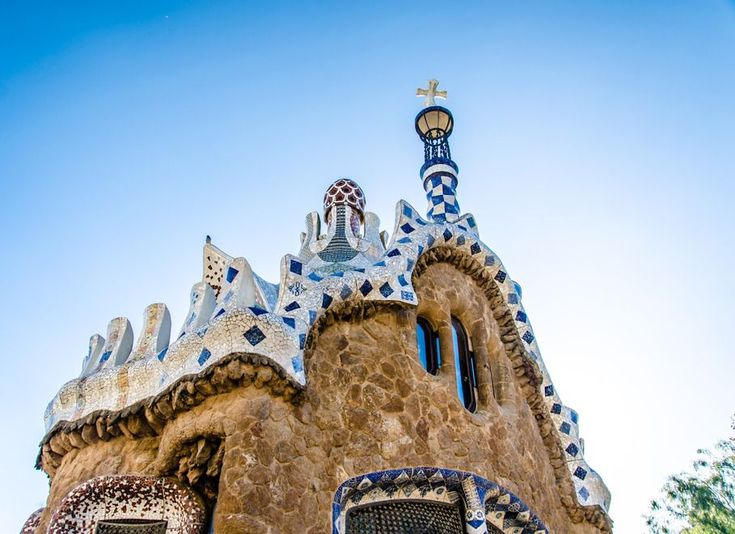 Architecture by Gaudi in Barcelona