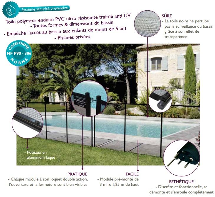 les 25 meilleures id es de la cat gorie barriere piscine. Black Bedroom Furniture Sets. Home Design Ideas
