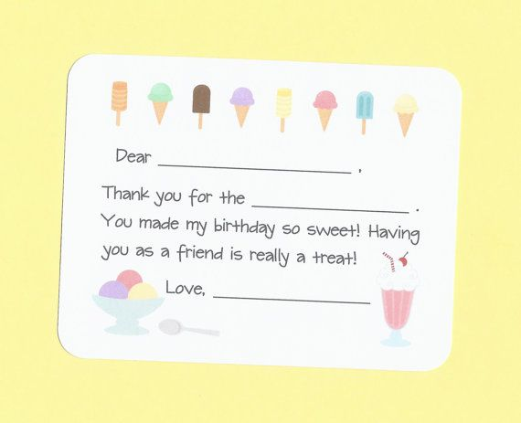 17 Best images about Fill in the Blank Thank You Notes on ...
