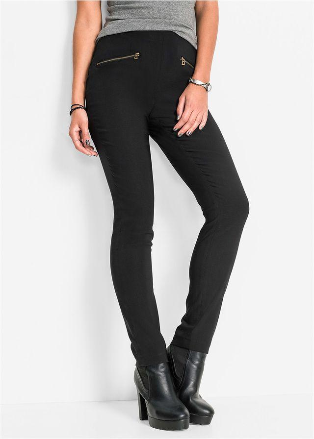 Pantaloni cu talie înaltă Un pantalon • 89.9 lei • bonprix