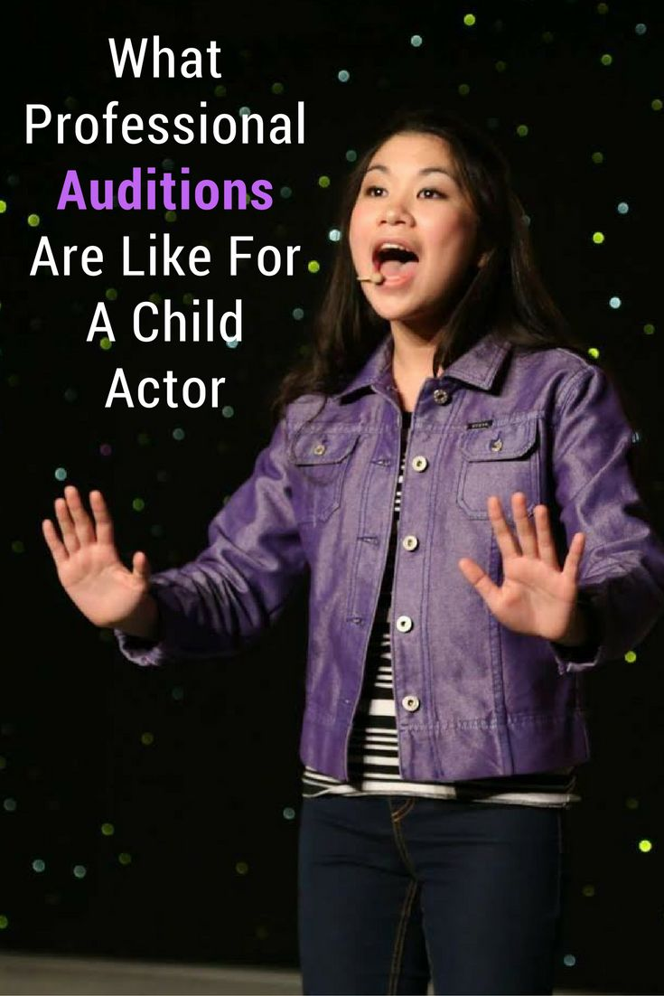 Ever wonder what child auditions are like?