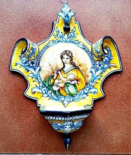 Spanish Ceramic Toledo Robles
