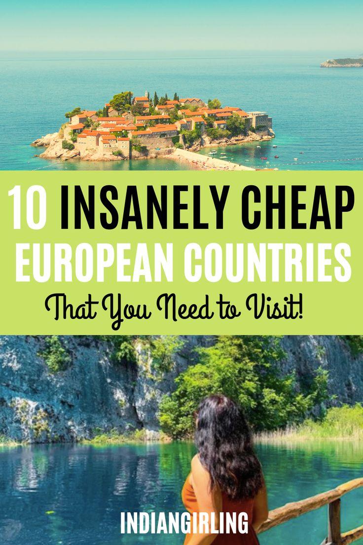 10 wahnsinnig günstige europäische Länder zu besuchen