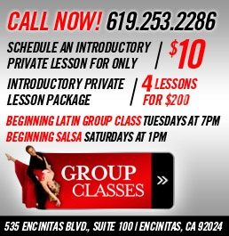 Best Dance Studio in San Diego.  Make sure to have Daniel as your instructor