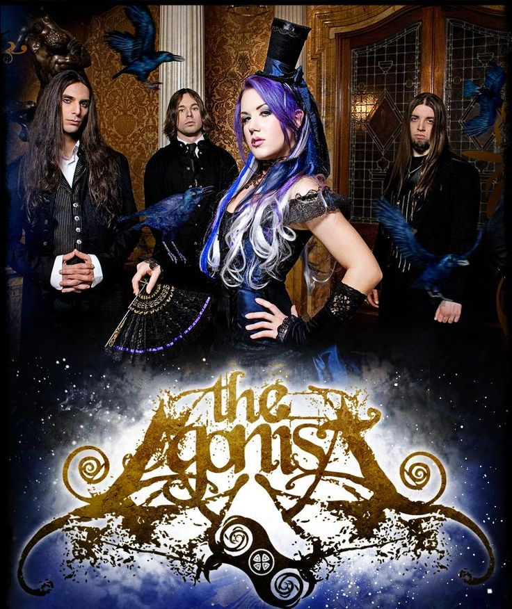 The Agonist - Melodic Death Metal.  I LOOOOOOVE THIS BAND! Too bad for the rocky line up change. but completely PUMPED to hear their new material with their new vocalist.