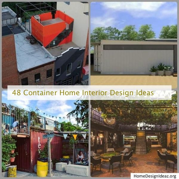 48 Container Home Interior Design Ideas In 2020 Container House Design Container House Plans Container House