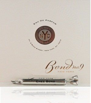 Chez Bond by Bond No. 9 Vial (sample) .057 oz by Bond No. 9. Save 1 Off!. $5.95. Founder Laurice Rahme named her company for the address of her perfumery in N.Y.C. Chez Bond translates (from the French) to at Bond's home. This is an Aromatic Fougere for men but many women would enjoy it as well. The composition includes accords of sandalwood violet and citruses.