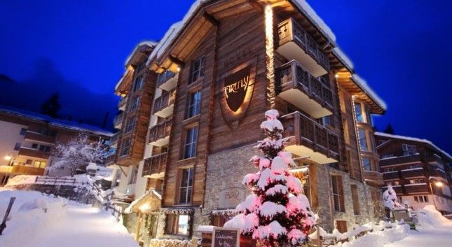 30 Luxe Hotels for Hitting the Slopes via Brit + Co.