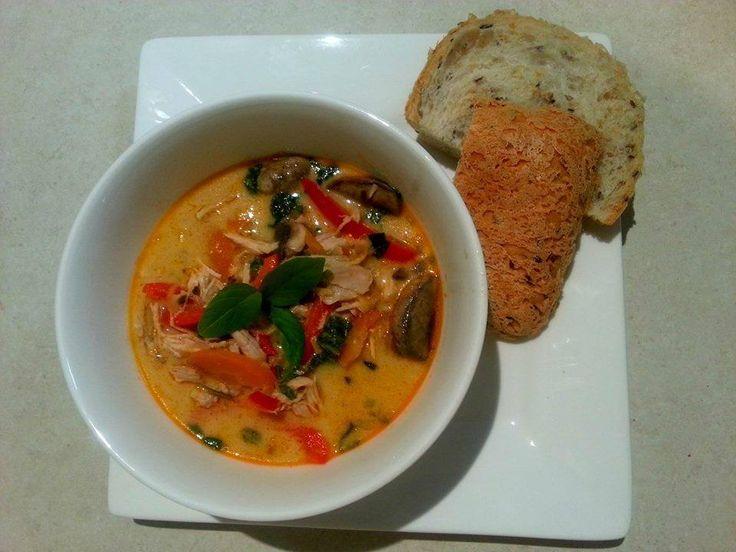 Thai Coconut Chicken Soup |