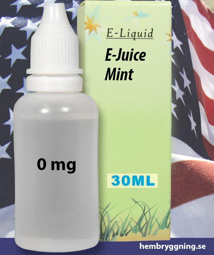 E-Juice USA Mix 30 ml. 0 mg.