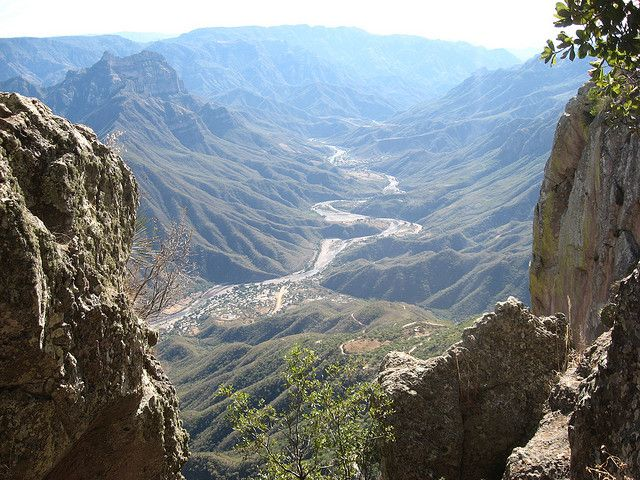 Copper Canyon, Mexico - took the train from Los Mochis to Chihuahua, staying overnight in the Copper Canyon.  So beautiful!