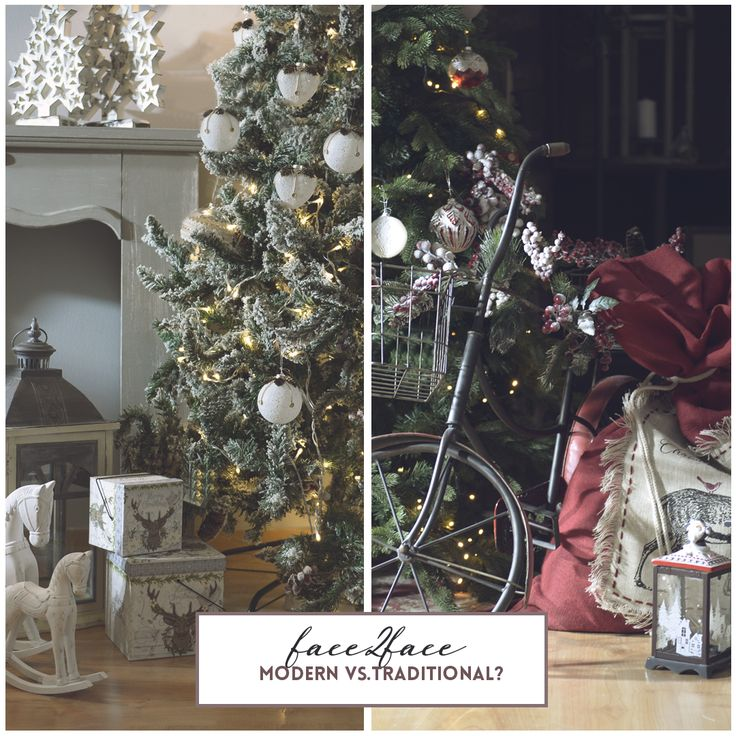 Ποιο στυλ γιορτινής διακόσμησης σας αρέσει πιο πολύ; Modern or Traditional? #inart #Face2Face #Modern #Traditional