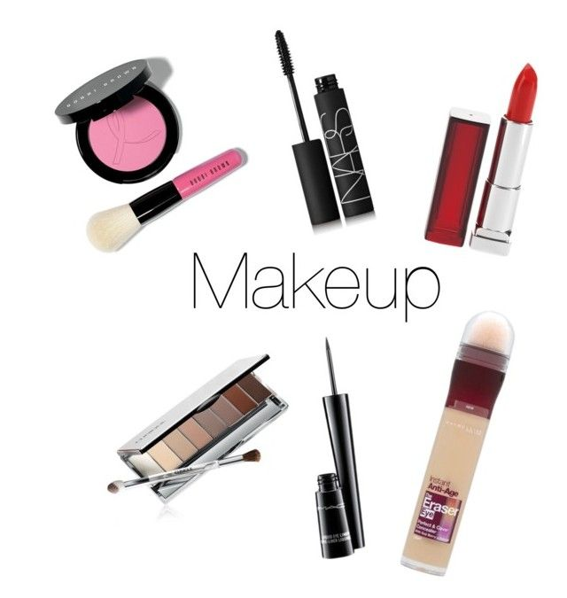 """Makeup"" by inkmanwil on Polyvore featuring beauty, Bobbi Brown Cosmetics, NARS Cosmetics, Maybelline, MAC Cosmetics and Clinique"