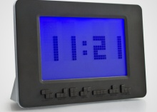 Tetris alarm clock lets you know it's time to wake up with falling block numbers and video game music.: Geeky Clocks, Geek Stuff, Alarm Clocks, Digital Clocks, Clocks Levels, Clocks Gadgets, Geeky Awesome, Awesome Stuff, Tetri Geeky