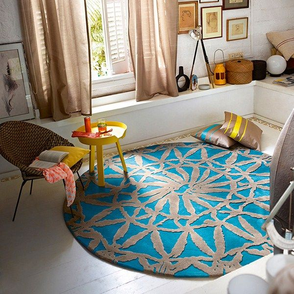 Esprit oriental lounge rugs 3404 01 turquoise buy online from the rug seller uk