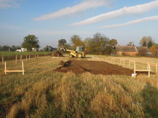 Nadzór archeologiczny nad pracami ziemnymi, związanymi z budową domu jednorodzinnego.