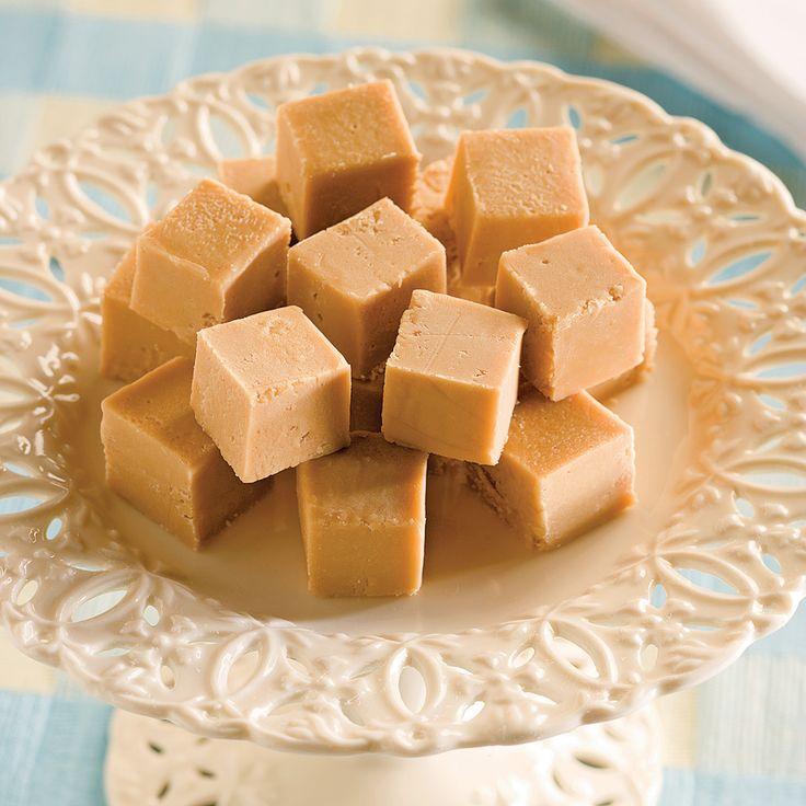 Des petits morceaux de bonheur: voilà comment qualifier ces carrés de sucre à la crème!