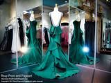 High Neckline Hunter Green Mermaid Prom Dress - Rsvp TF - Long Gown - Rsvp Prom and Pageant Atlanta, Georgia GA - BEST PROM STORE