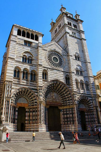 san lorenzo cathedral // genoa, italy