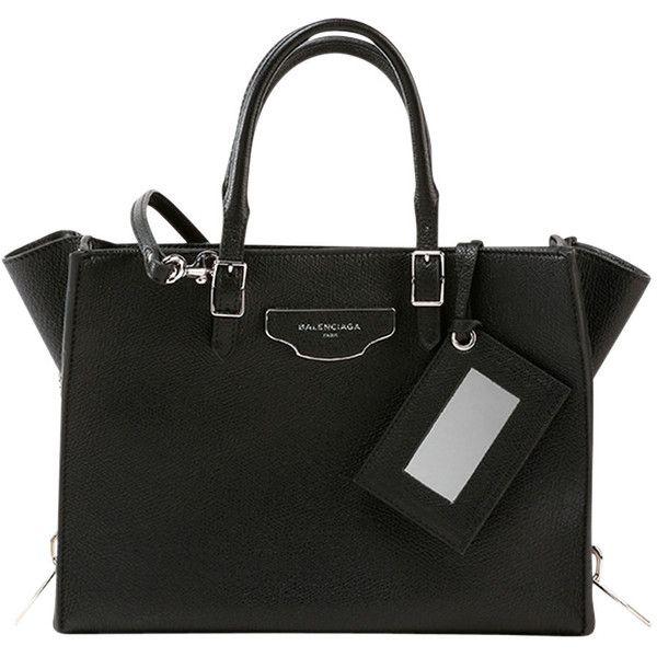 Balenciaga Papier Small Zip-Around Tote Bag