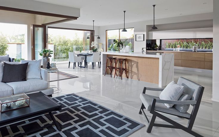 Open Kitchen Living Room Pictures