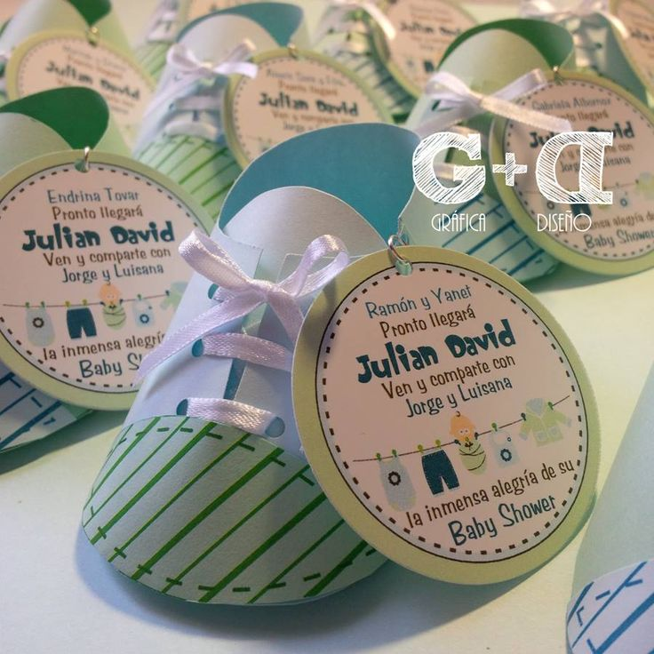 Zapatitos Almendreros para #Recuerdos del #BabyShower de Julian David