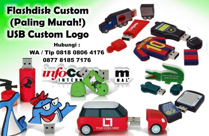 Jual Flashdisk Custom (Paling Murah!) - USB Custom Logo