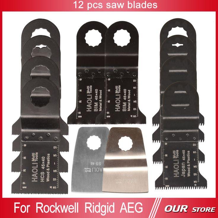 $23.55 (Buy here: https://alitems.com/g/1e8d114494ebda23ff8b16525dc3e8/?i=5&ulp=https%3A%2F%2Fwww.aliexpress.com%2Fitem%2F12-pcs-Mix-oscillating-muti-tool-saw-blades-for-power-tools-as-Ridgid-Worx-Sonicrafter-AEG%2F32518951576.html ) 12 pcs Mix oscillating muti tool saw blades for power tools as Ridgid,Worx Sonicrafter,AEG,DIY,with flush cut knife edge scraper for just $23.55