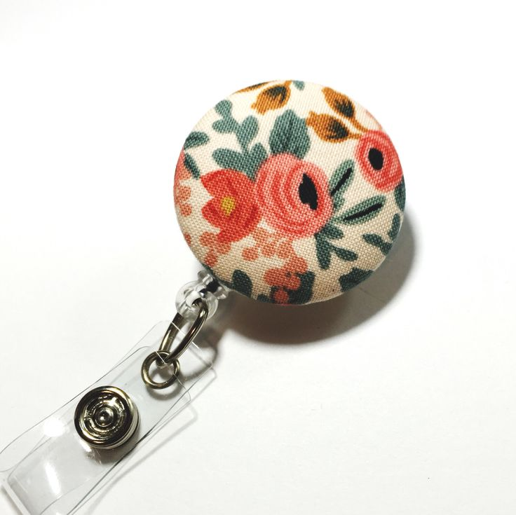 Rifle paper co coral floral badge reel flower id badge holder retractable badge holder nurse badge reel badge reels name badge holder by PoppyandPippa on Etsy https://www.etsy.com/listing/473783769/rifle-paper-co-coral-floral-badge-reel