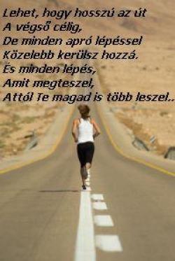 Lehet, hogy hosszú az út a célig - Futótárs.com - Ahol a futás szenvedéllyé válik....