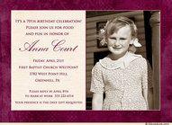 70 birthday invitation ideas - Google Search
