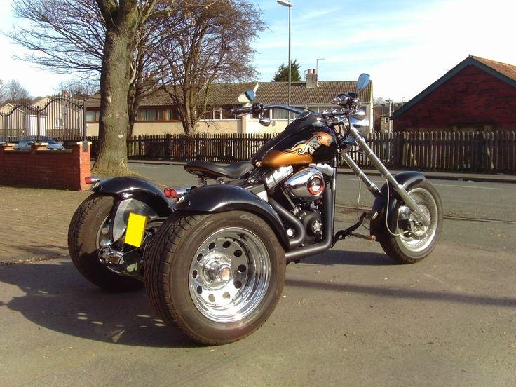 Harley Davidson Street Bob Custom Trike