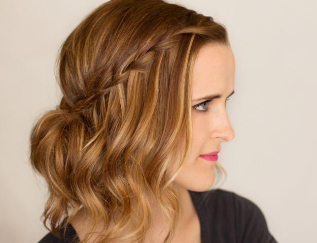 Прическа водопад ::: onelady.ru ::: #hair #hairs #hairstyle #hairstyles