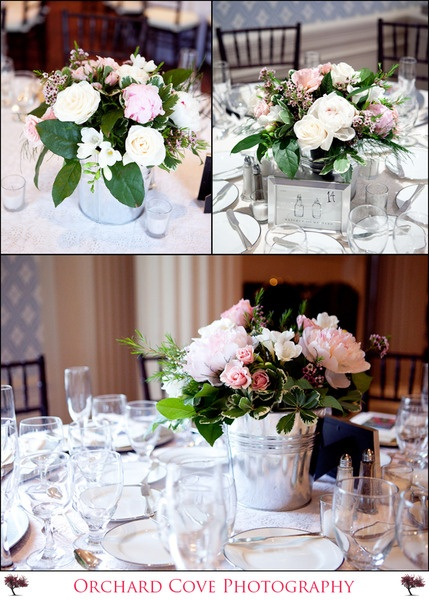 buckets for centrepieces
