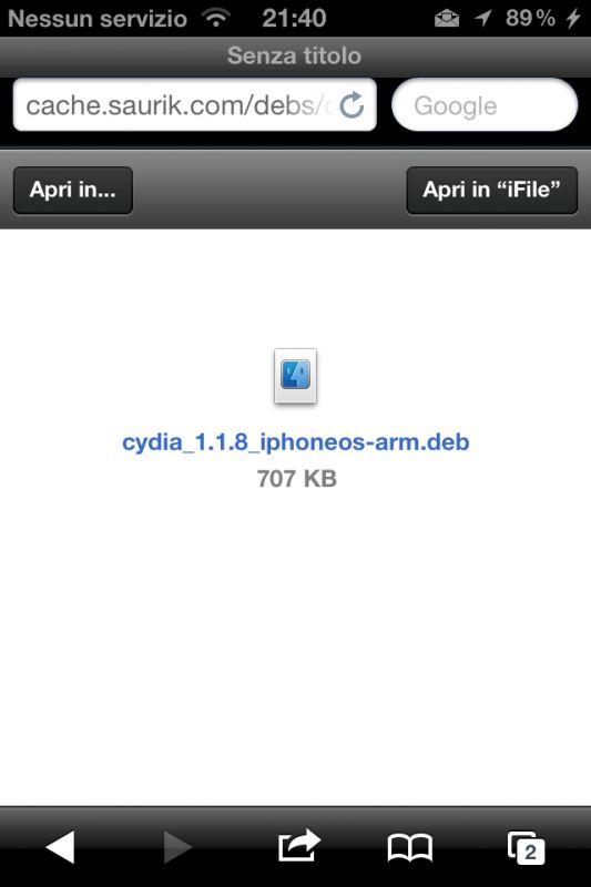 Come installare Cydia 1.1.8 su tutti i dispositivi con iOS 5.x