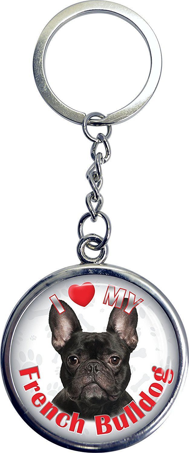 iLeesh i Love My French Bulldog Key Chain *** To view further for this item, visit the image link. (This is an affiliate link and I receive a commission for the sales)