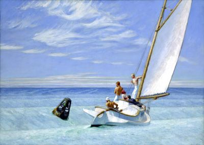 Ground Swell - Edward Hopper