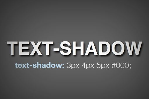 Inset text shadow with CSS
