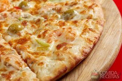 Receita de Pizza portuguesa - Comida e Receitas