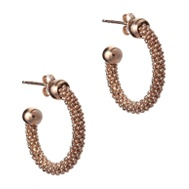 Pure Attraction Rose Mesh Earrings NTE547-R :: Pure Attraction Earrings :: Earring :: Steffan's the Jewellers