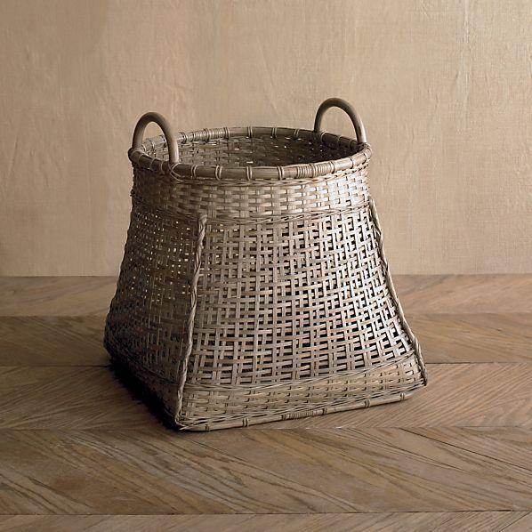 Hiriwa Short Basket in Storage Baskets, Bins   Crate and Barrel