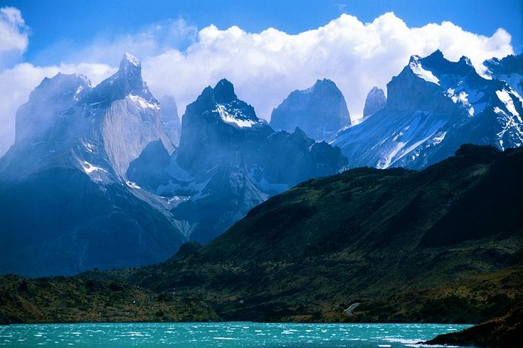 A view towards Torres Del Paine