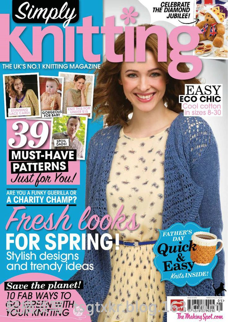 63 best Knitting mags: Simply knitting images on Pinterest ...