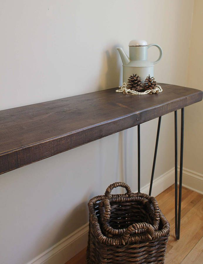 Industrial Style Console Table from notonthehighstreet.com