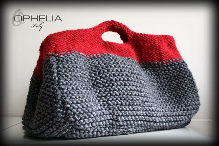 knit bag - Ophelia Italy - free pattern (ita)